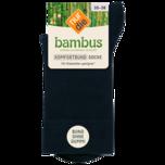 Nur die Damen Bambus Komfort Socke 35-38