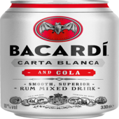 Bacardi & Cola 330ml