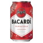 Bacardi & Cola 0,33l