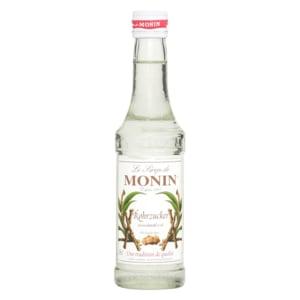 Monin Sirup weißer Rohrzucker 0,25l