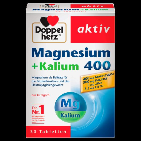 Doppelherz Magnesium + Kalium 400 30 Stück