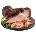 Wasner Schwarzgeräuchertes vom Schweineschlegel gegart