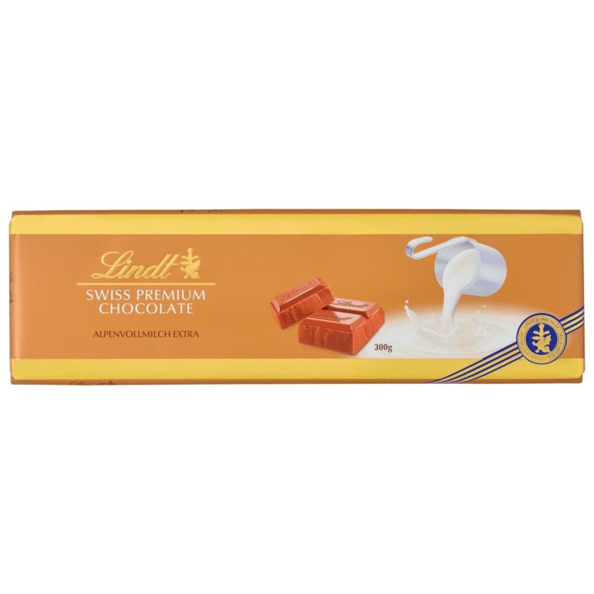 Lindt Schokolade Alpenvollmilch Extra 300g