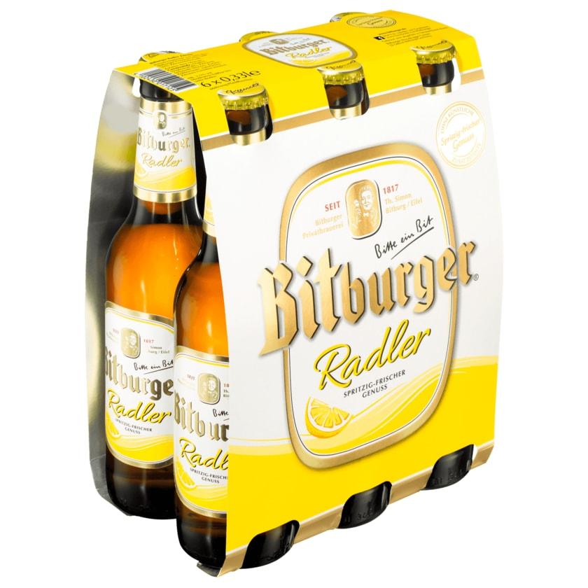 Bitburger Radler 6x0,33l