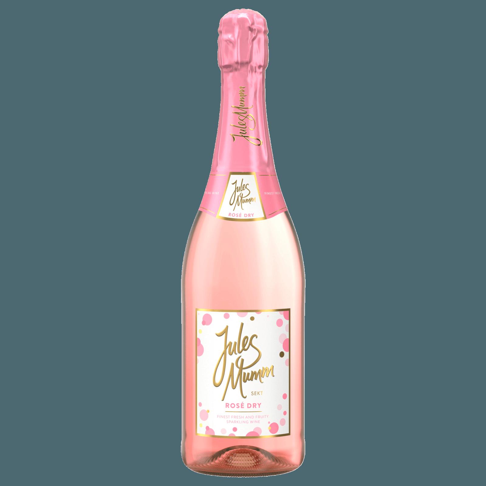 Jules Mumm Sekt Rosé Dry trocken 0,75l