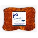 ja! Schweine-Nackensteak in Kräutermarinade 4 Stück