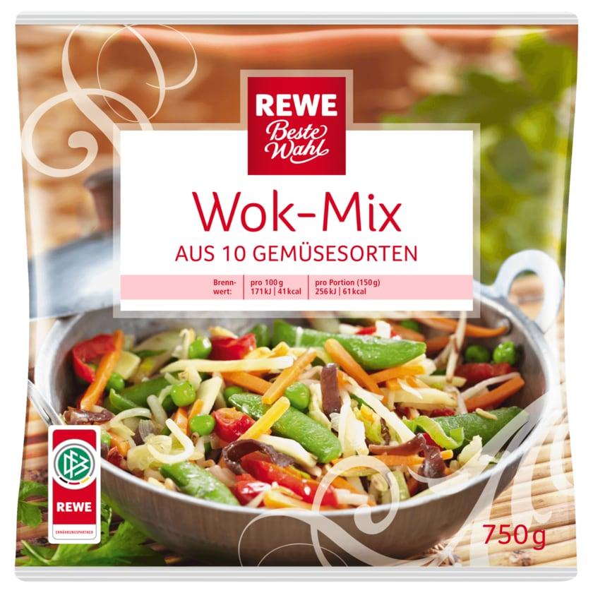 REWE Beste Wahl Wok-Mix 750g