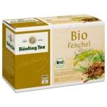 Bünting Tee Bio-Fenchel 50g, 20 Beutel