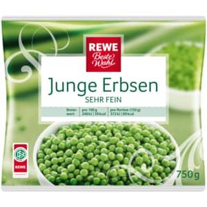 REWE Beste Wahl Junge Erbsen 750g