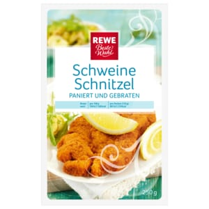 REWE Beste Wahl Schweineschnitzel 250g