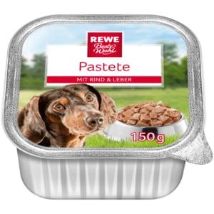 REWE Beste Wahl Hundepastete mit Rind & Leber 150g
