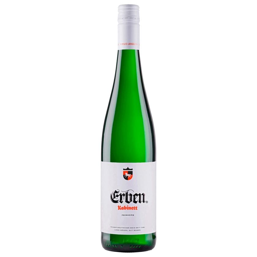 Erben Kabinett Weißwein feinherb lieblich 0,75l