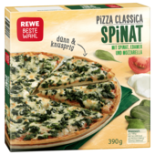REWE Beste Wahl Pizza Classica Spinat 390g