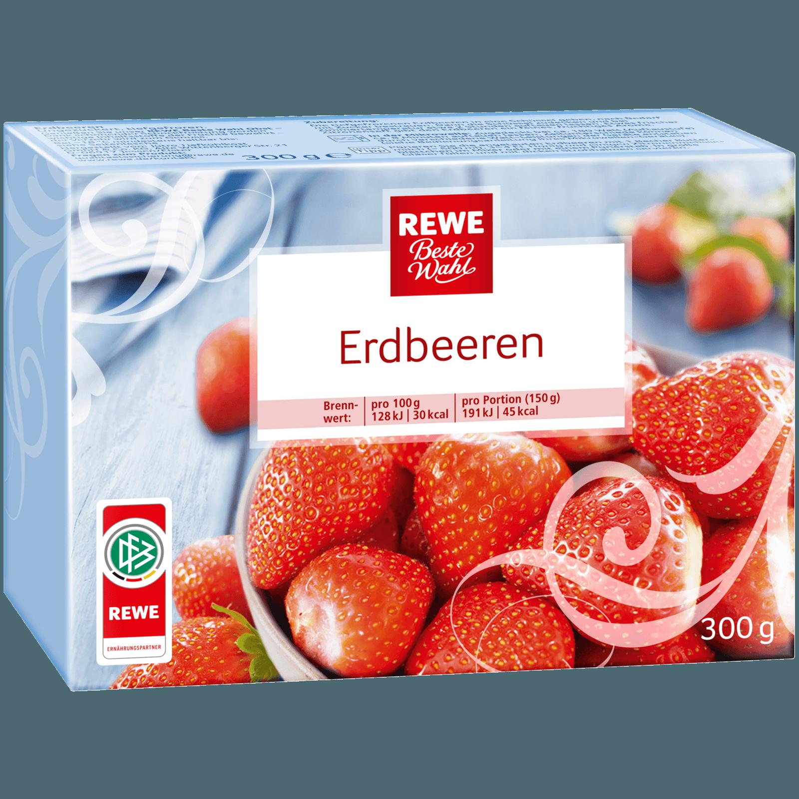 REWE Beste Wahl Erdbeeren 300g