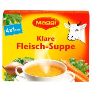 Maggi Klare Fleisch-Suppe 4x21g ergibt 4l