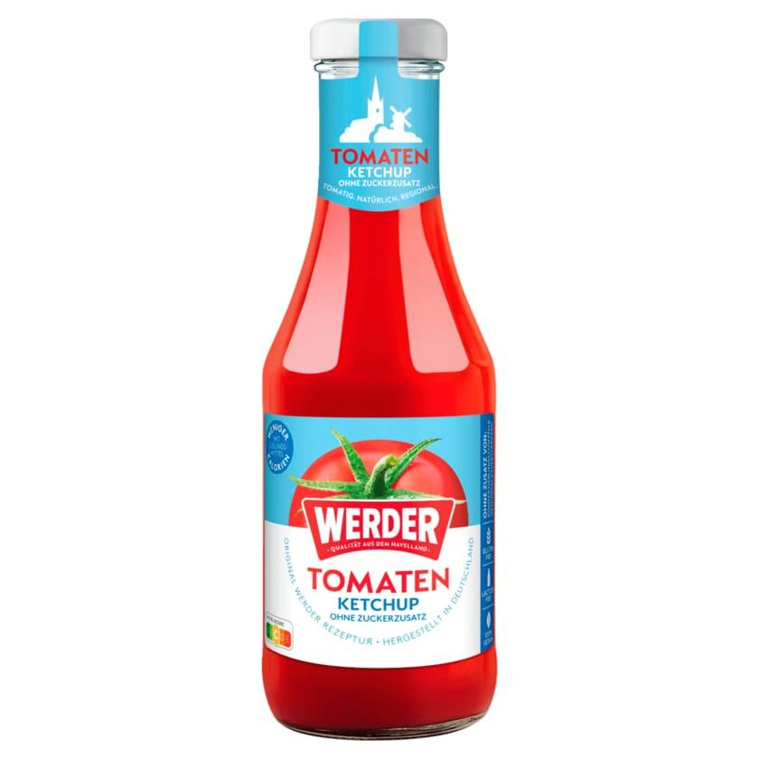 Werder Feinkost Tomatenketchup ohne Zuckerzusatz 450ml