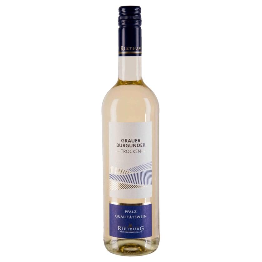 Rietburg Weißwein Grauer Burgunder QbA trocken 0,75l