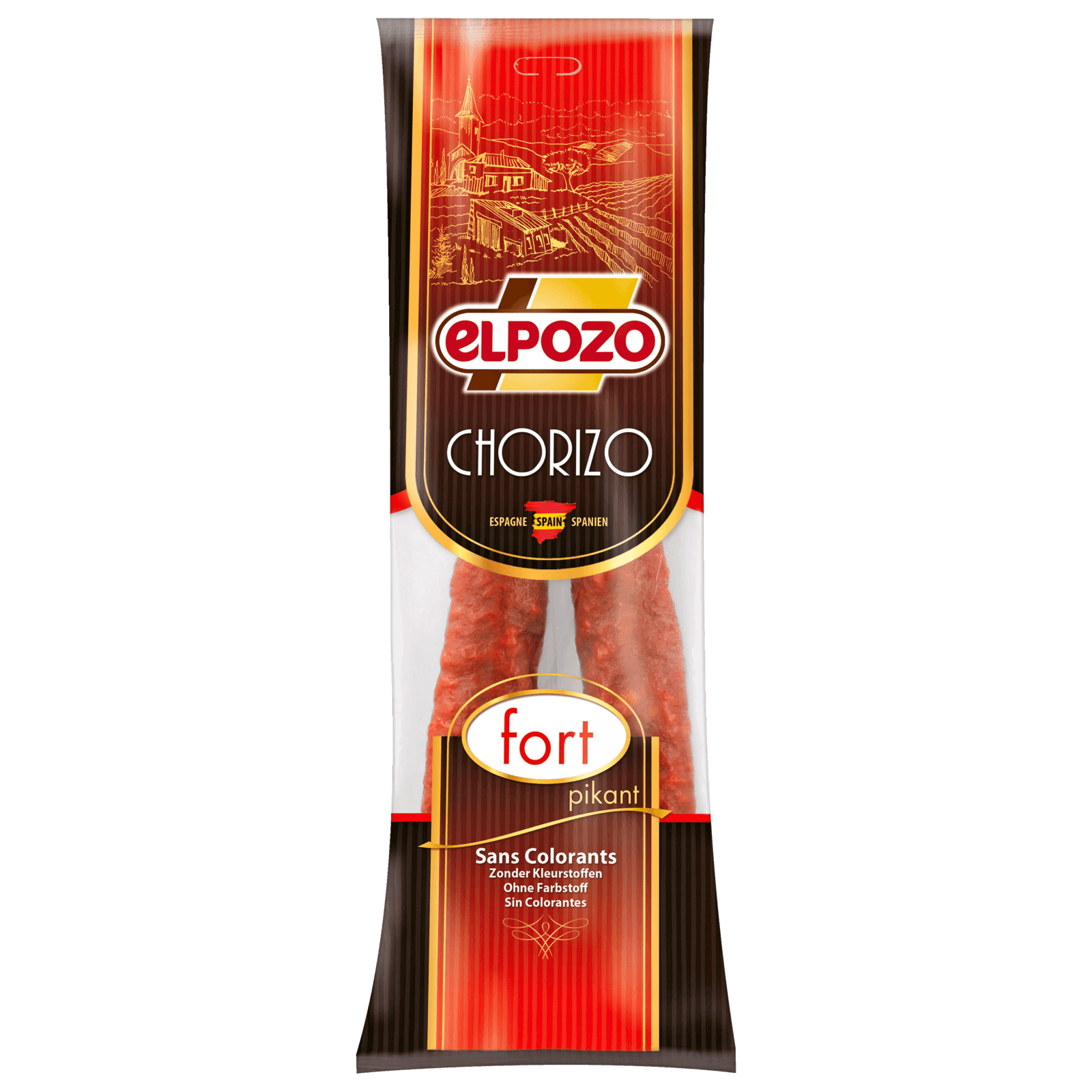 Elpozo Chorizo Sarta Picante 225g