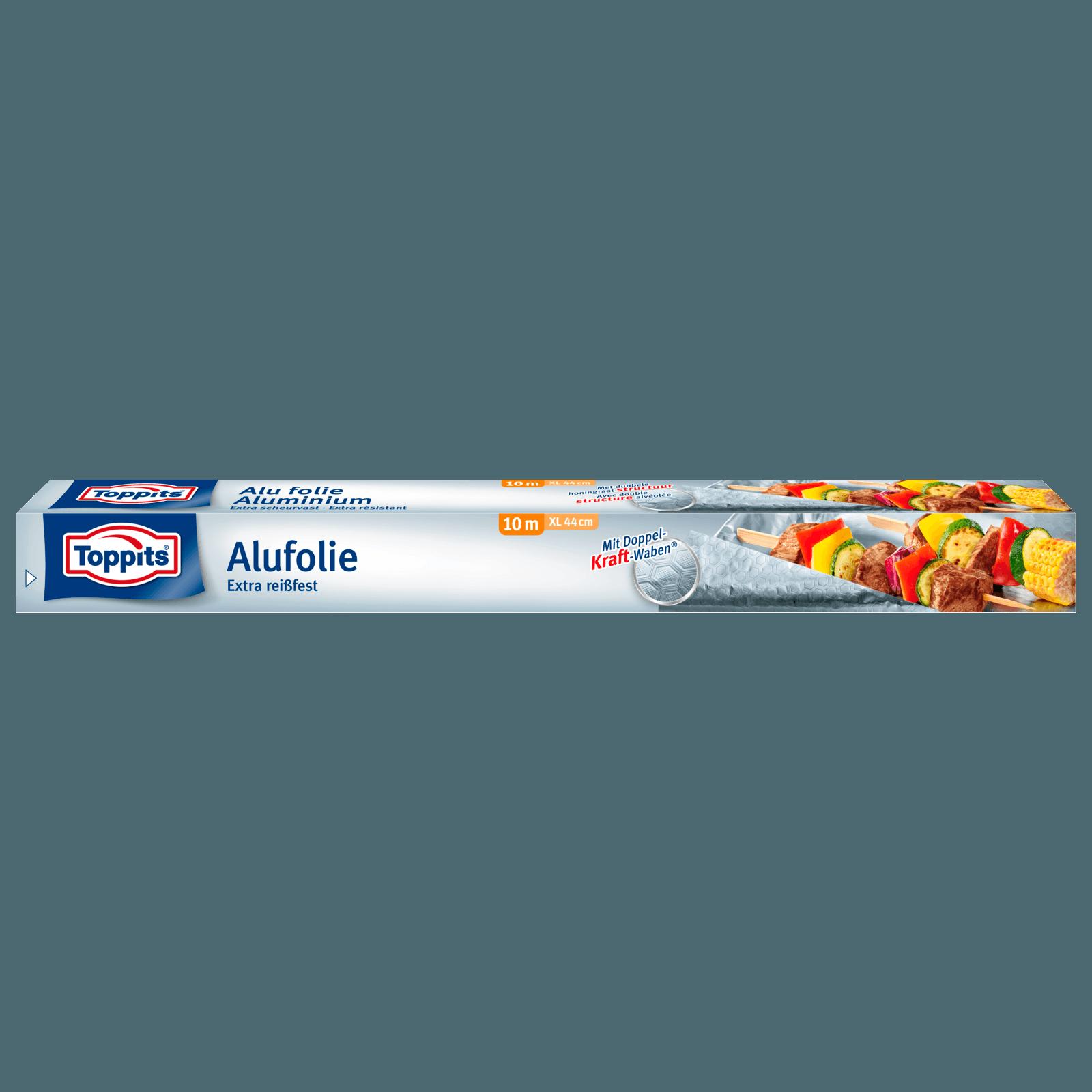 Toppits Alufolie extra breit 10m