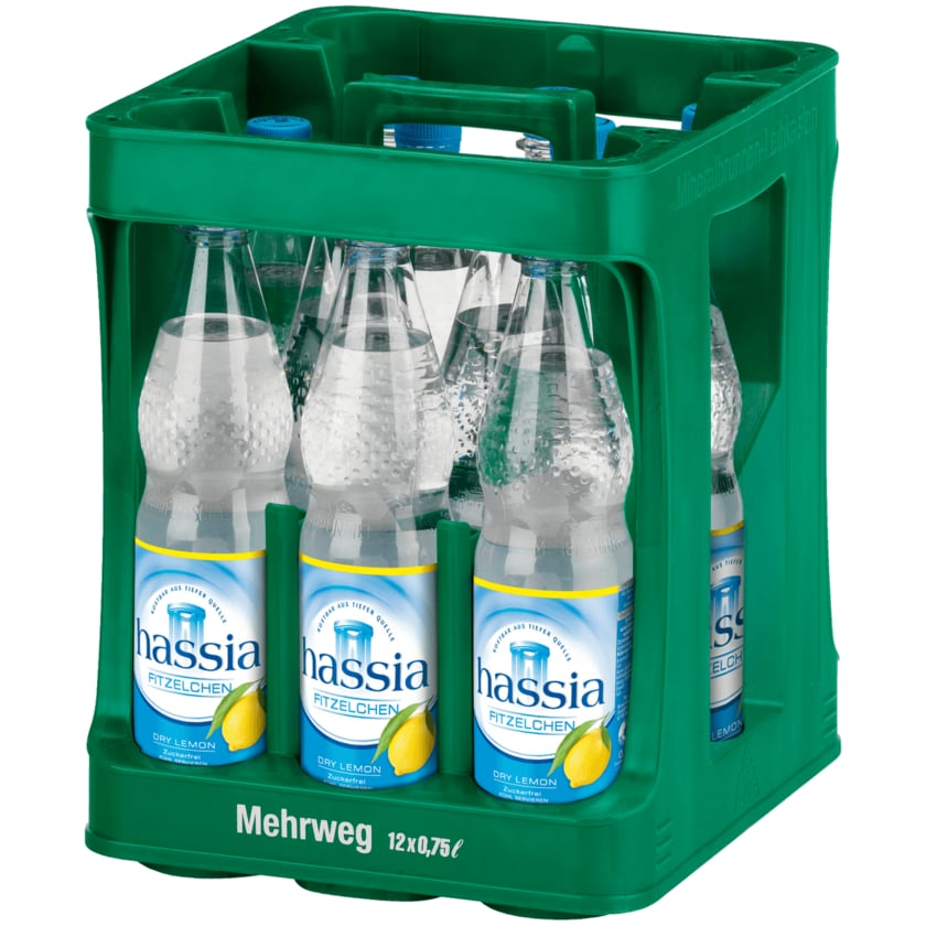 Hassia Dry Lemon 12x0,75l