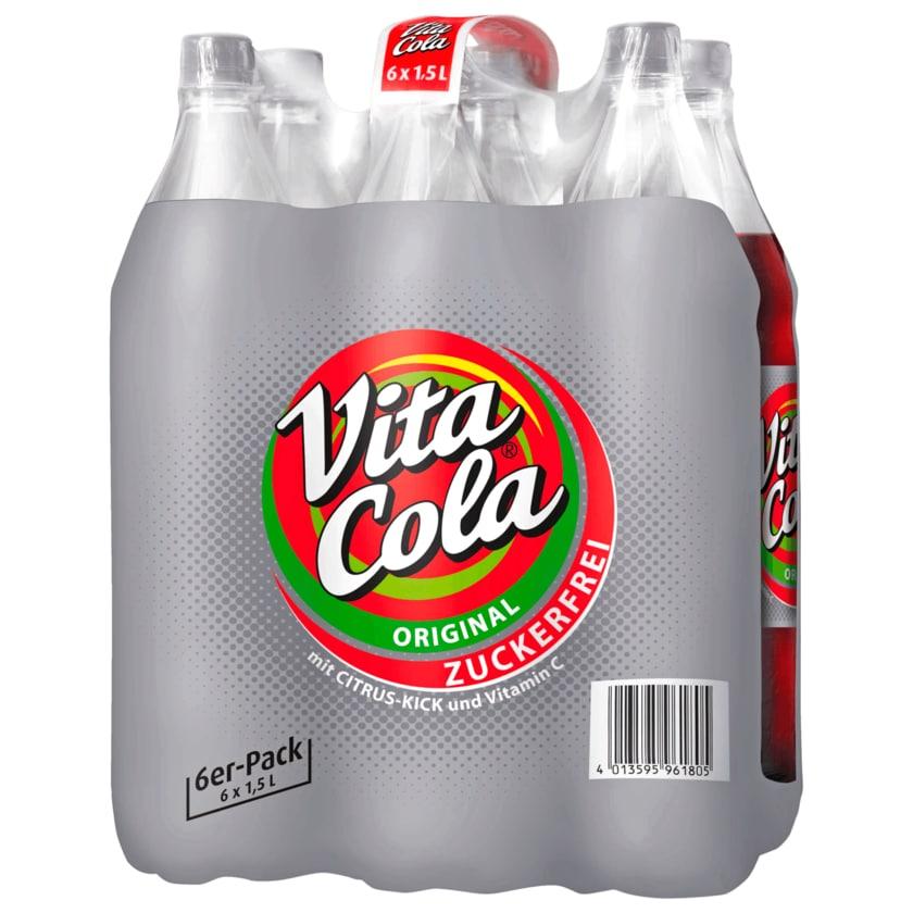 Vita Cola zuckerfrei 6x1,5l