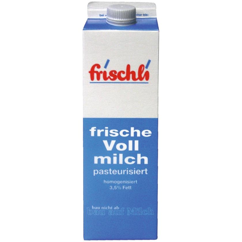 Frischli frische Vollmilch 3,5% 1l