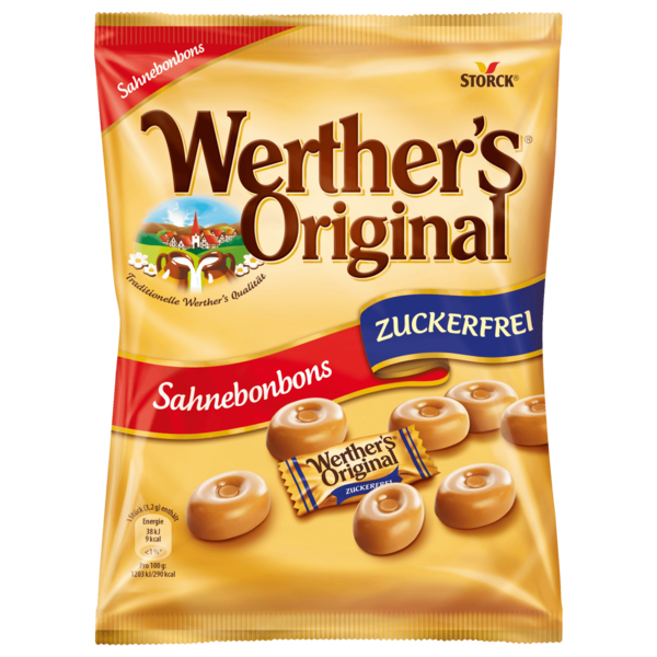 Storck Werther's Original zuckerfrei 70g