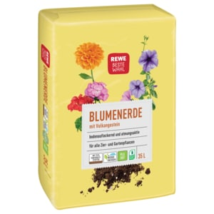 REWE Beste Wahl Blumenerde 35l