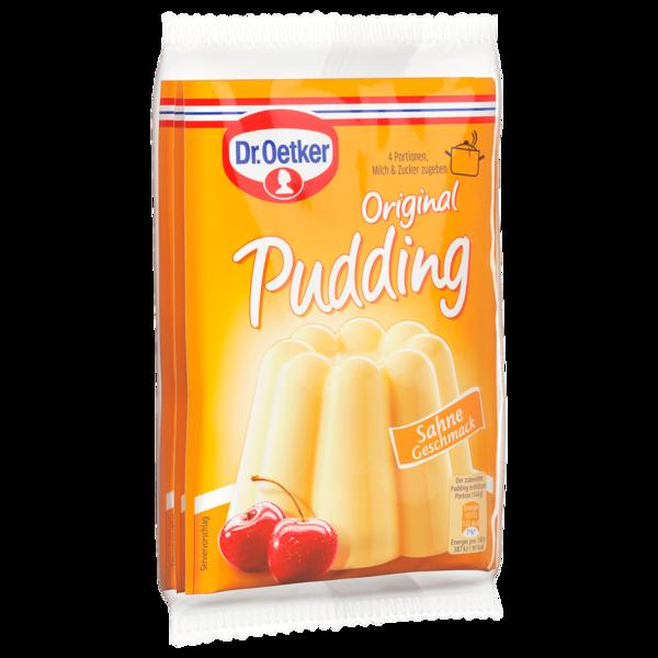 Dr. Oetker Original Pudding Sahne 3x37g
