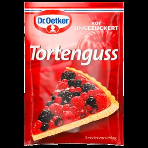 Dr. Oetker Tortenguss rot 3er 36g