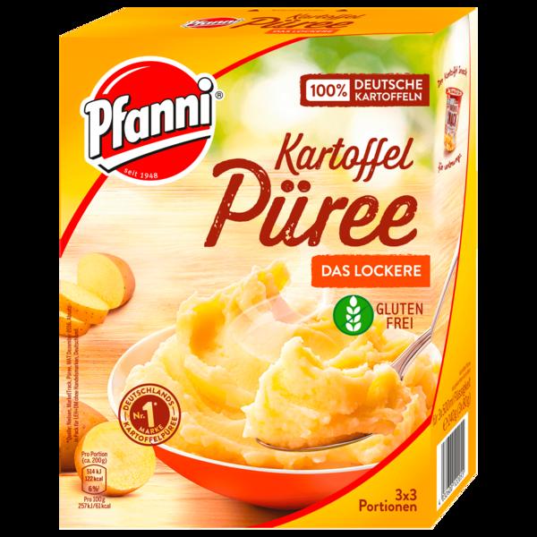Pfanni Kartoffelpüree der Klassiker besonders locker 3x3 Portionen