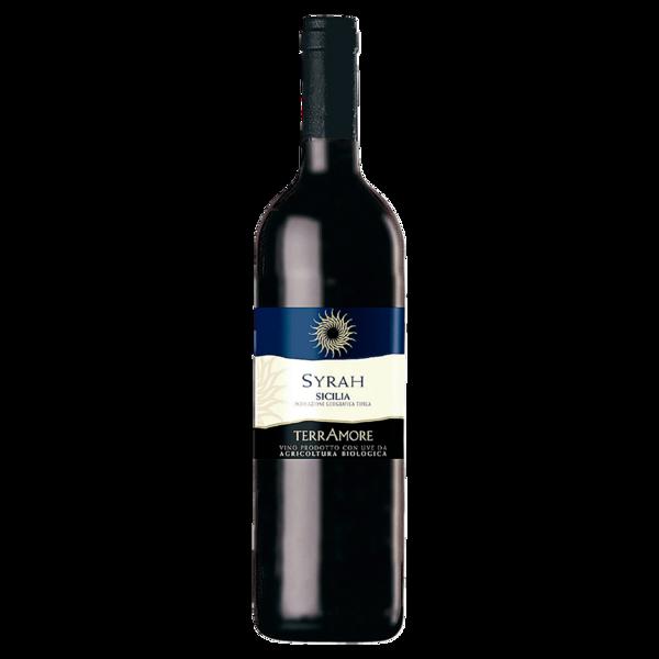 Terramore Bio Rotwein Syrah di Sicilia trocken 0,75l