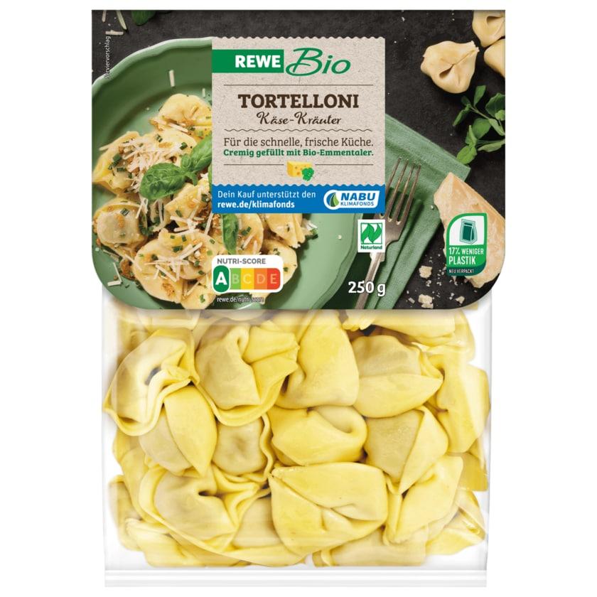 REWE Bio Tortelloni Frischkäse-Kräuter 250g