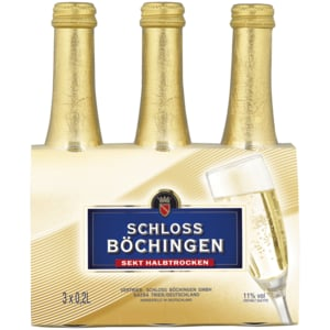 Schloss Böchingen halbtrocken 3x0,2l