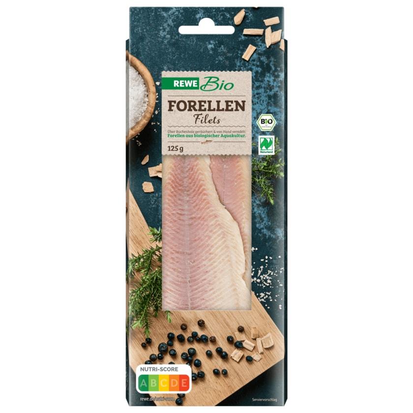 REWE Bio Forellenfilets geräuchert 125g