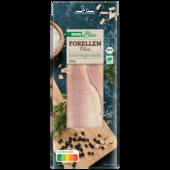 REWE Bio Forellenfillets geräuchert 125g