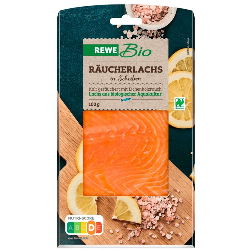 REWE Bio Räucherlachs Salmo salar 100g