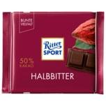 Ritter Sport Schokolade Halbbitter 100g