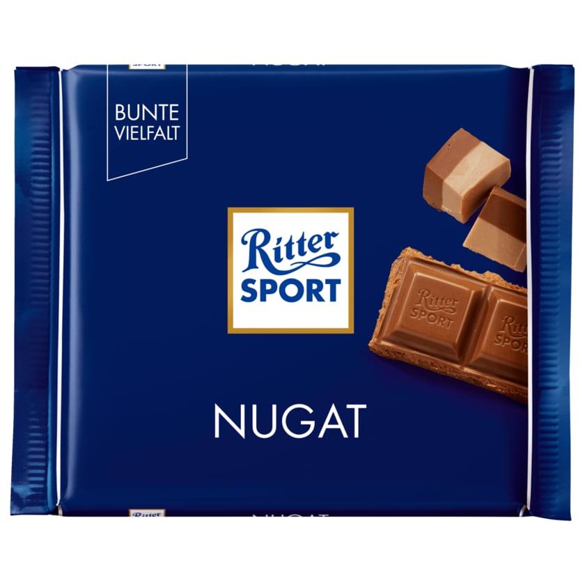 Ritter Sport Schokolade Nugat 100g