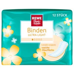 REWE Beste Wahl Binden ultra light 12 Stück