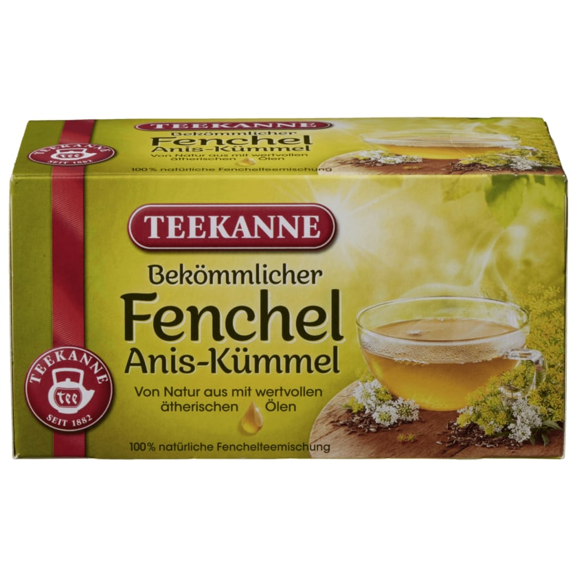 Teehaus Fenchel Anis-Kümmel 80g, 40 Beutel