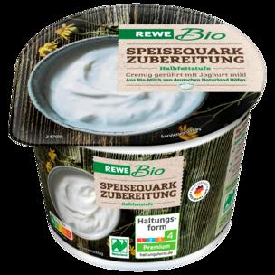 REWE Bio Speisequarkzubereitung Halbfettstufe 250g