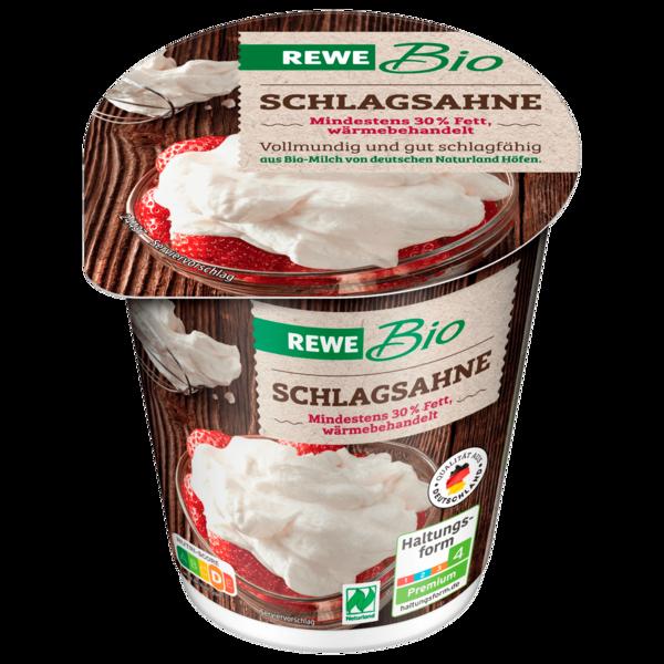 REWE Bio Schlagsahne 200g