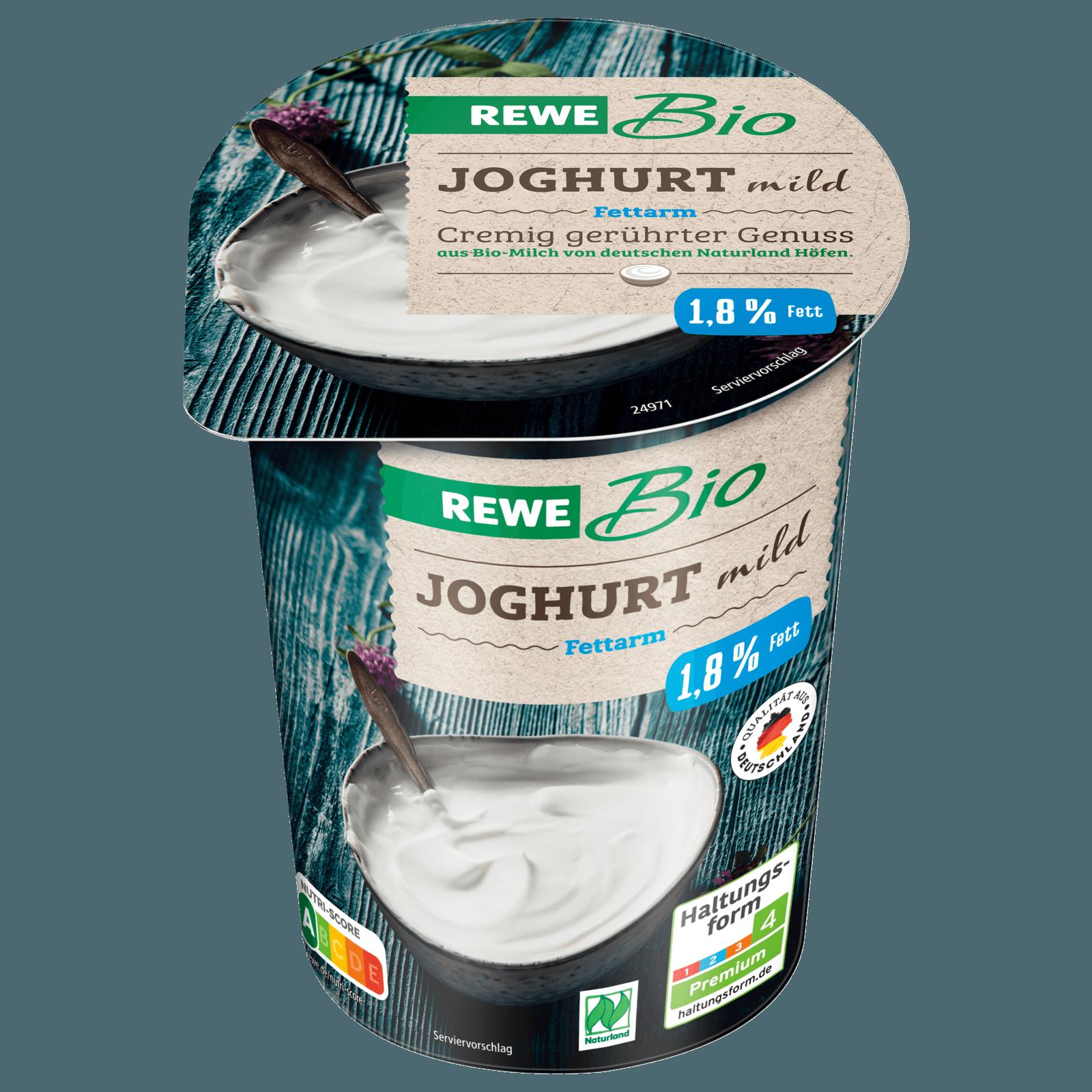 REWE Bio Joghurt mild fettarm 500g