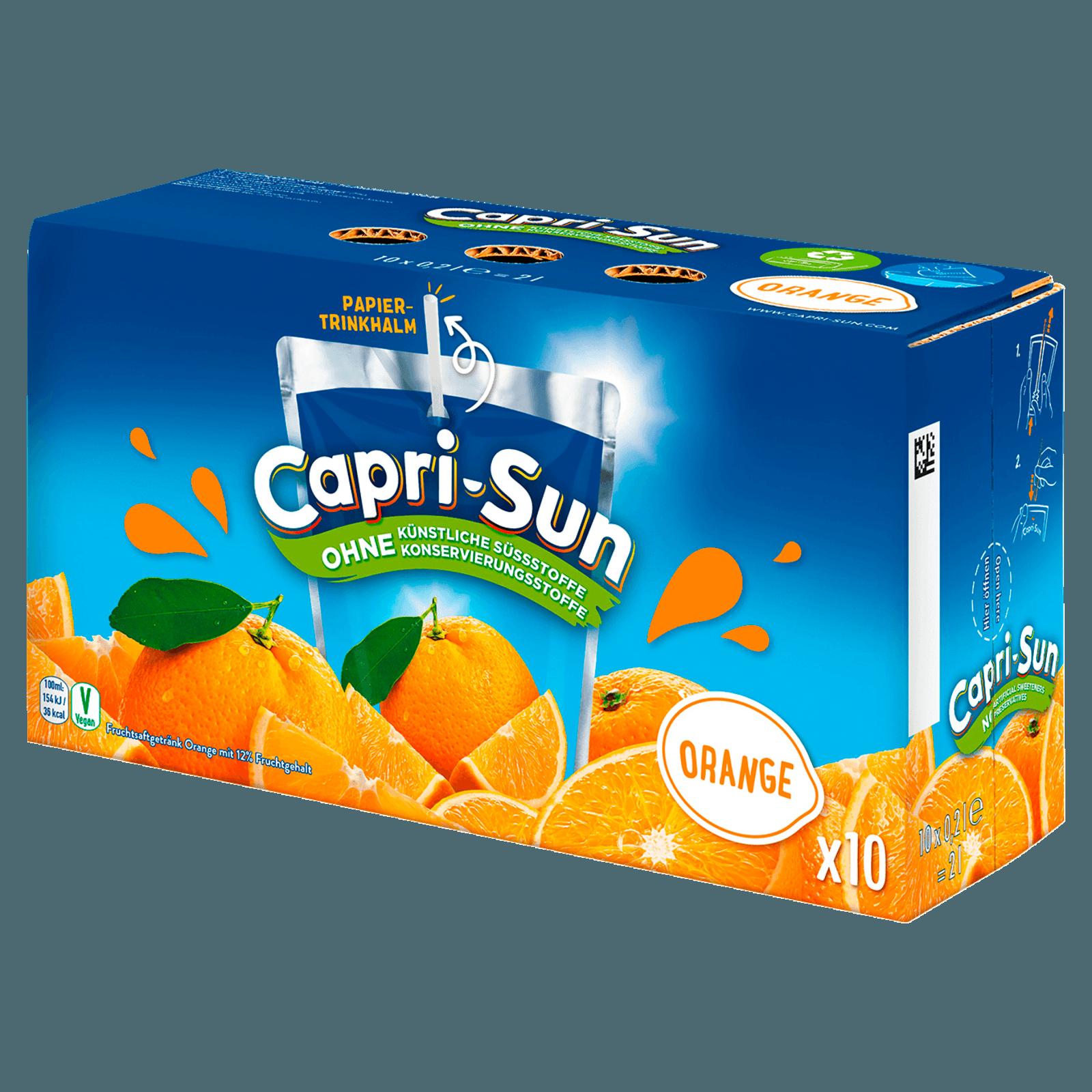 Capri Sun Orange Multipack 20x20ml bei REWE online bestellen