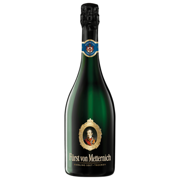Fürst von Metternich Riesling Sekt trocken 0,75l