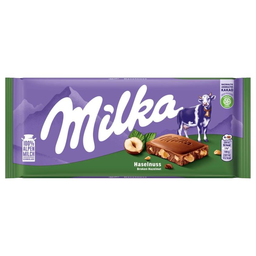 Milka Schokolade Haselnuss 100g