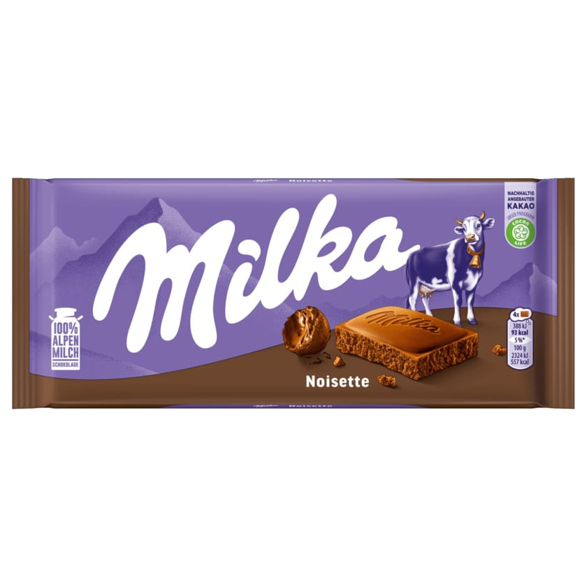 Milka Schokolade Noisette 100g