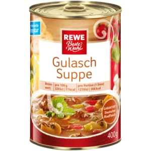 REWE Beste Wahl Gulaschsuppe 400ml