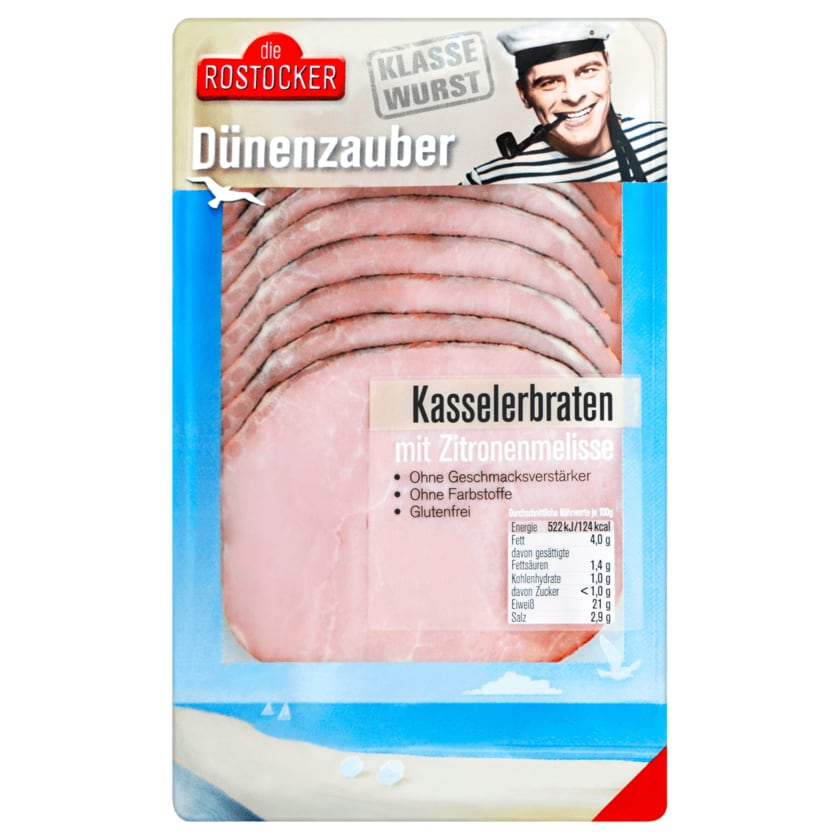 Die Rostocker Dünenzauber Kasselerbraten mit Zitronenmelisse 100g